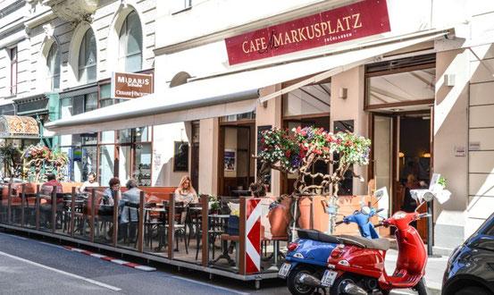 Nichtraucherlokal Café Markusplatz, 1010 Wien, Tuchlauben 16