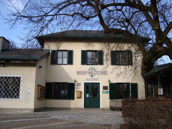 Die Wiener Waldschule bei der Jubiläumswarte