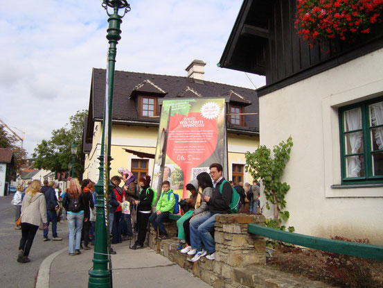 9. Wiener Weinwandertag am 27.09.2015: Startpunkt in Neustift am Walde, Wien-Döbling
