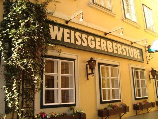 Die 'Weissgerberstube' im Sünn-Hof, 1030 Wien, Landstrasser Hauptstrasse 28.