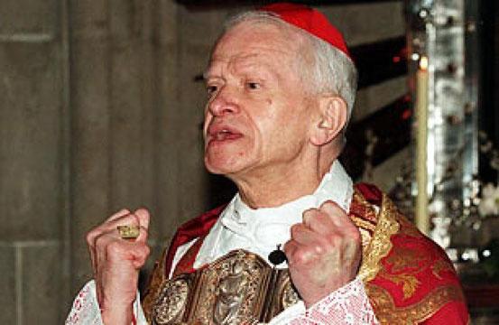 Hans Hermann Kardinal Groër OSB (* 13. Oktober 1919 in Wien; † 24. März 2003 in St. Pölten) war Erzbischof von Wien (Wikipedia)
