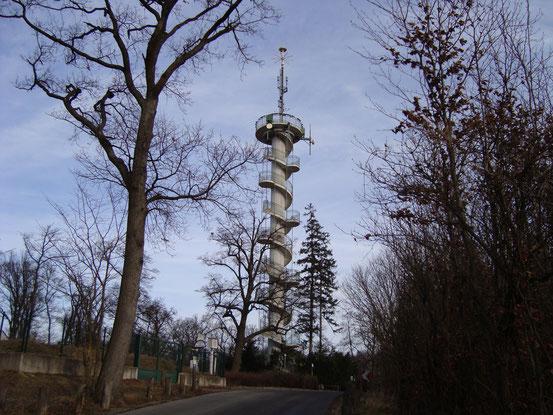 Die Jubiläumswarte (Anblick von Westen)