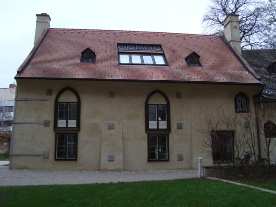 Das Haupthaus der Heumühle (Südansicht)