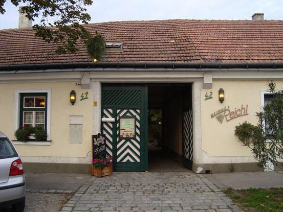 Weinhof Reichl, 1210 Wien, Stammersdorfer Strasse 41-43.