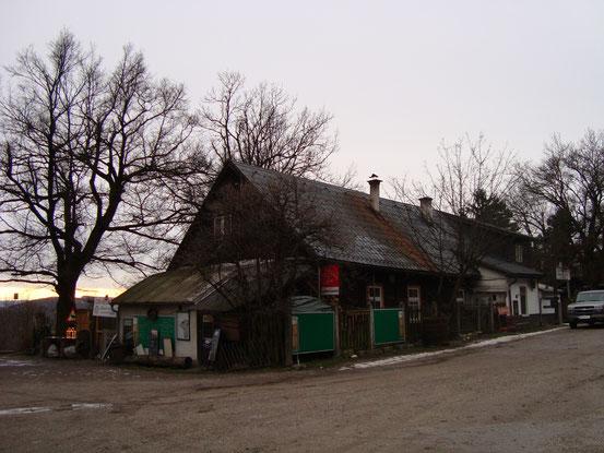 Das 'Häuserl am Stoan' (Ost-Nord-Ansicht)