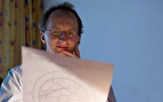 Börsen-Astrologe Manfred Zimmel (Bild © Rene Prohaska)