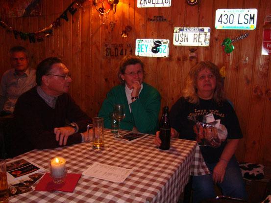 Walter, Hermi, Eliza (von links)