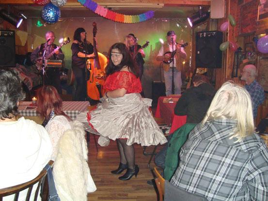 Jenny mit einem Tanzsolo