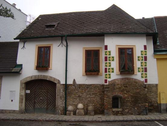 Das '3 Kugel Schachinger Haus', Sieveringer Strasse 99, 1190 Wien