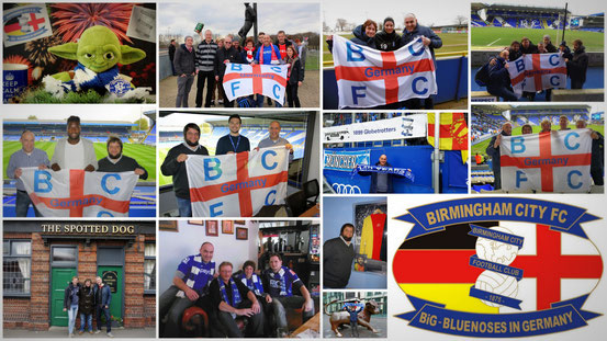 Bildercollage der Bluenoses in Germany