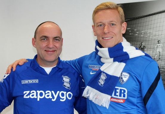 Tom Kleine and Mikael Forssell