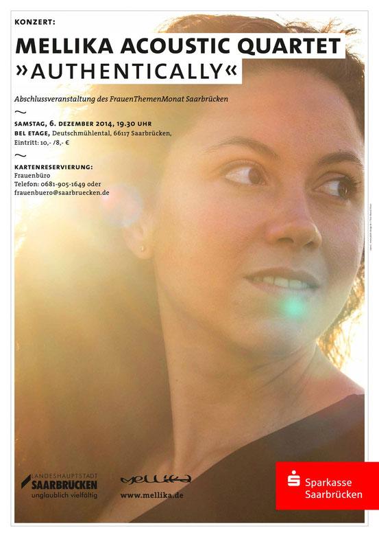 Konzert 06.12.14 19:30 Uhr Bel Etage, Saarbrücken, Eintritt 10/8 €