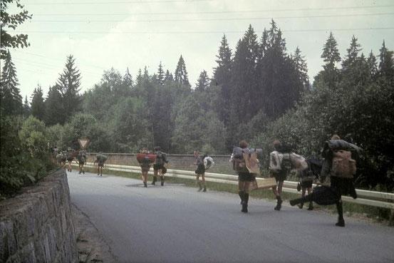 Sommerlager Bayerischer Wald 1966