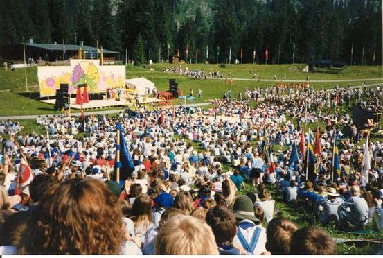 Bundeslager Ruhpolding 1988