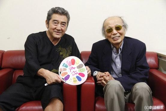 松方弘樹さん&布勢博一先生