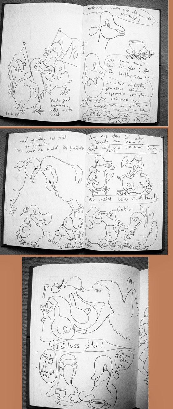 Dodo gegen Nyo ;-)