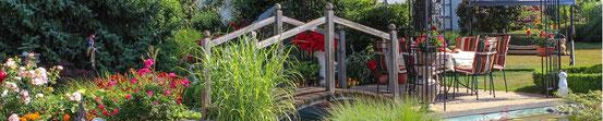 ponte legno, decorativo , giardino , arredo