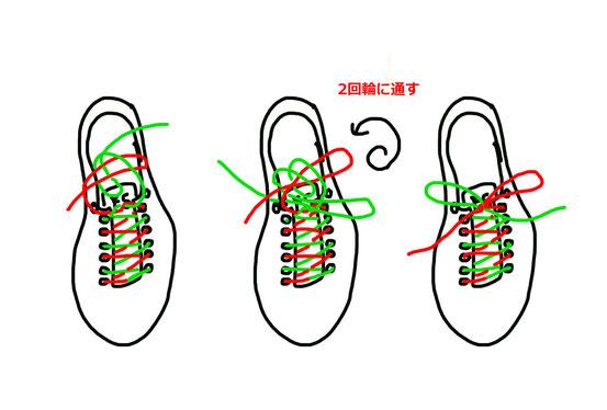簡単にとれる二重結び