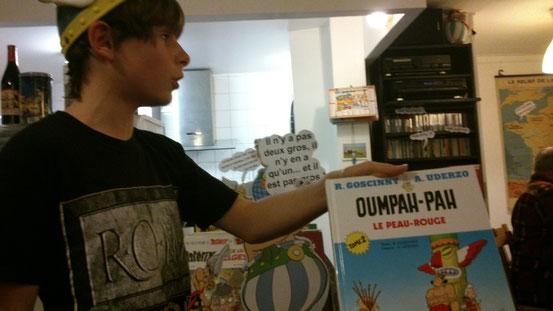 Oumpah-pah, le premier de Goscinny