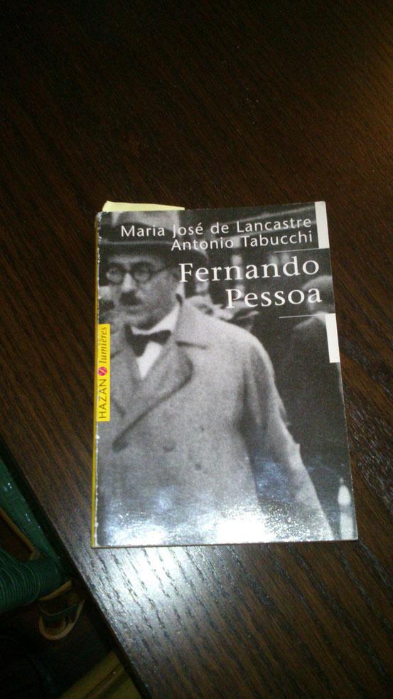 """En lien avec """"Le Pèlerin"""" de Pessoa aux éditions de La Différence, Maxime nous a lu un extrait de ce livre paru chez Hazan parlant des hétéronymes de Pessoa"""
