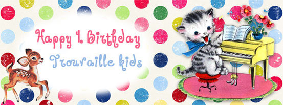 Trouvaille kids Happy Birthday