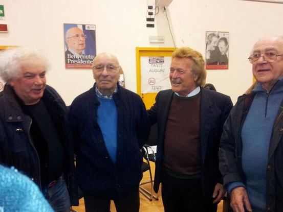 ''Gimax'' alla festa di compleanno di Tino Brambilla (80 anni)