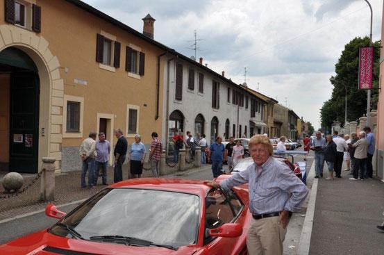 Gimax e la sua Ferrari