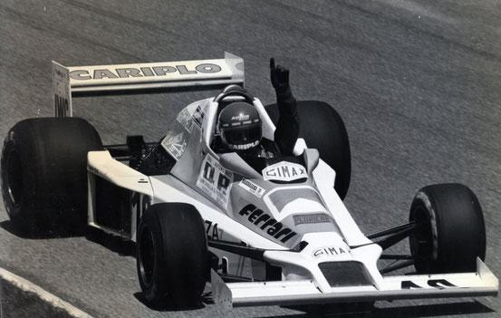 Autodromo di Monza 29.06.1980 - Campionato d'Europa F3