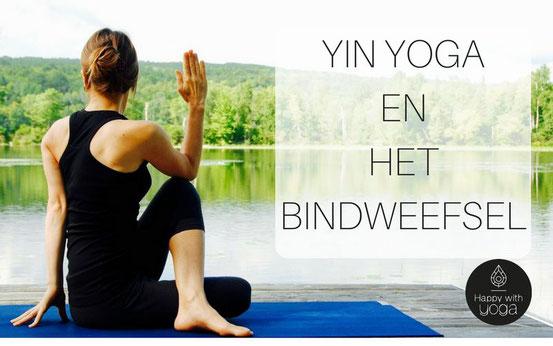 foto van happywithyoga.com over yin yoga en het bindweefsel