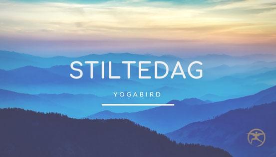 Stiltedag mindfulness meditatie yoga oefeningen