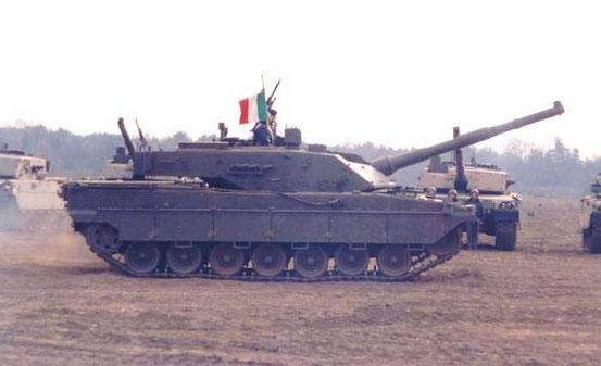 L'Ariete est le premier char de conception italienne depuis la seconde guerre mondiale