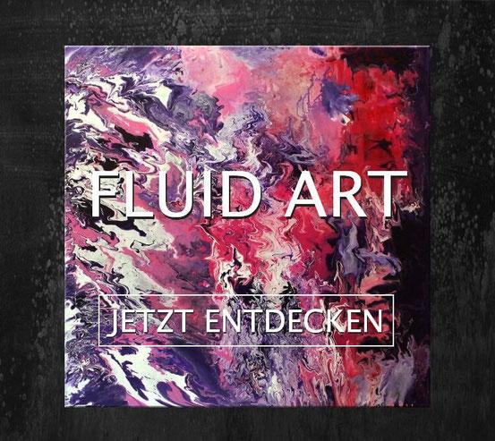 Wandbbilder Fluid Art - Wandbilderkunst.de