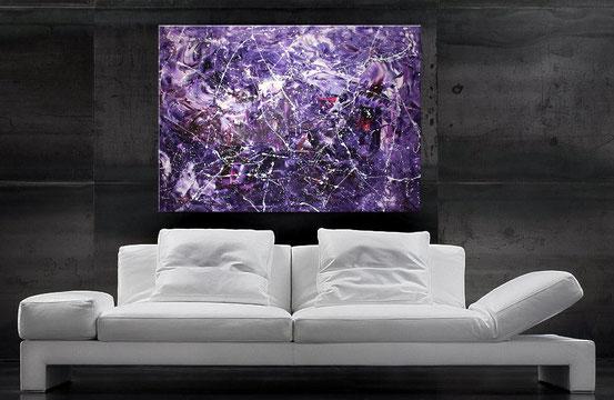 Acrylbild von wandbilderkunst.de, Hochformat, 90x70 cm