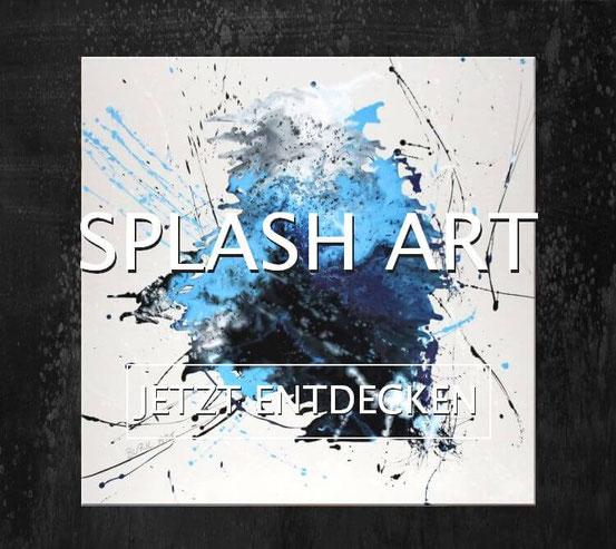 Splah Art Gemälde kaufen - BURK ART