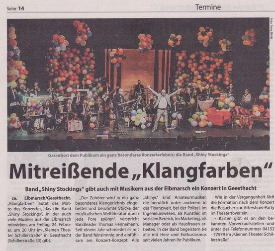 Kreiszeitung Wochenblatt Elbe-Geest, 22.02.2017