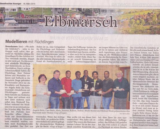 Geesthachter Anzeiger, 18.03.2015