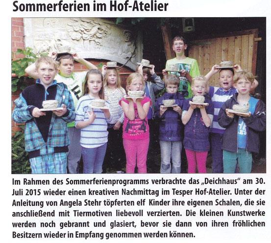 De Elvmarscher, August 2015