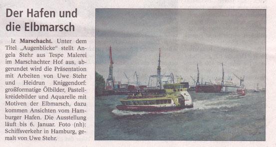 Lüneburger Zeitung, 21.November 2014