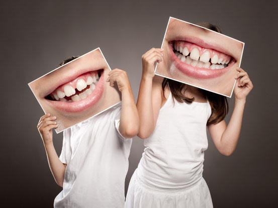 Kinderlächeln, Lächeln, Schöne Zähne, Mundhygiene, Zahnhygiene