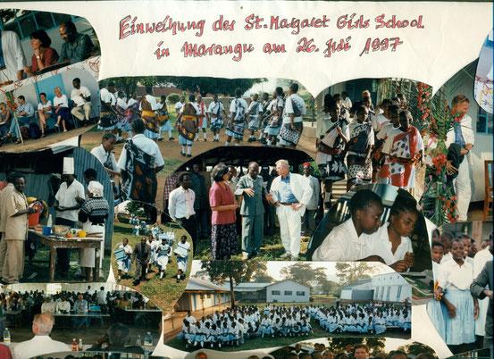 Delegation aus Edenkoben besucht 1997 die St. Margaret School