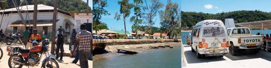 Pangani - Fluß und Fähre