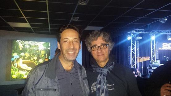 In un concerto con GAETANO CURRERI
