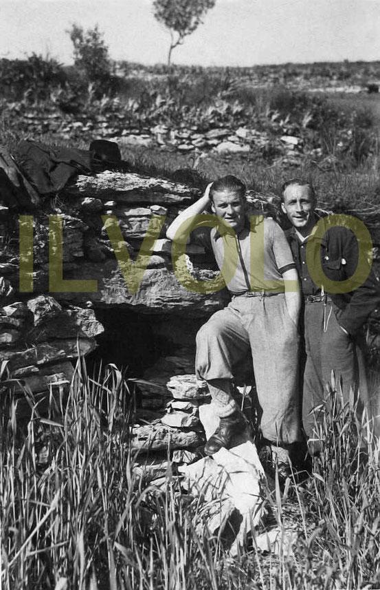 Rarissima foto dei P.G. del Campo di Montecchia