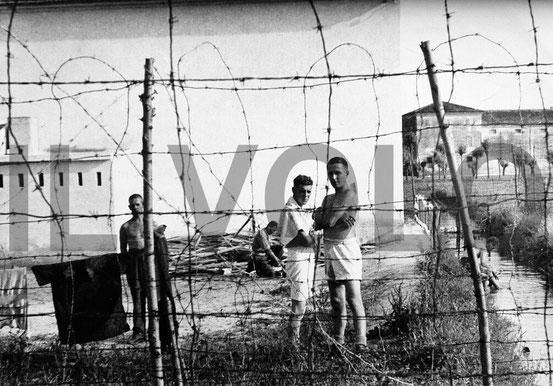 Campo di prigionia di Vigasio in Località San Bernardino (foto Arnaldo Bercelli)