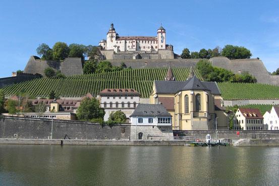 Festung Marienburg oberhalb von Würzburg