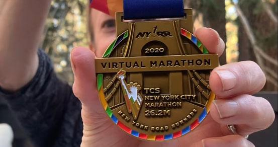 Vorschau der Medaille auf der Homepage