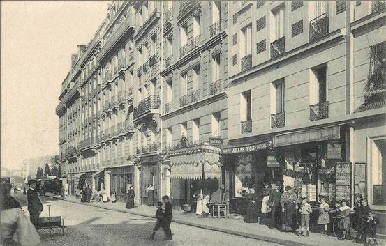 La rue Gassendi en 1900