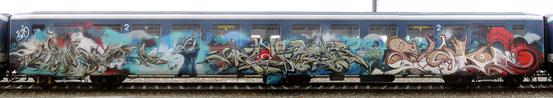 """""""Schrottzug"""" Dezember 2016 WuaM - CoRer - SeeAk in der Schweiz"""