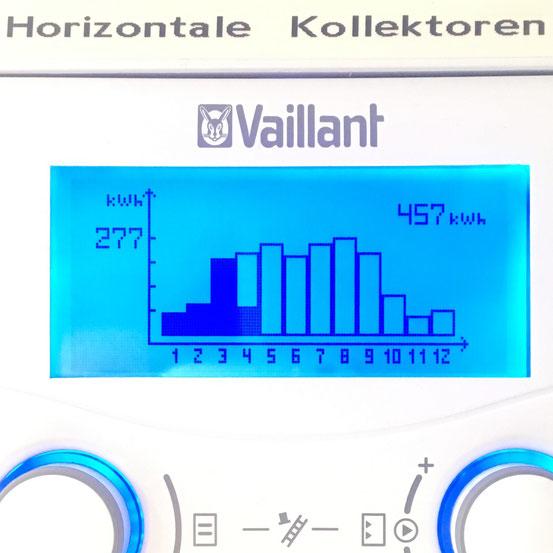 Solarblog meiner Vaillant Solaranlage - Bauprojekt2010
