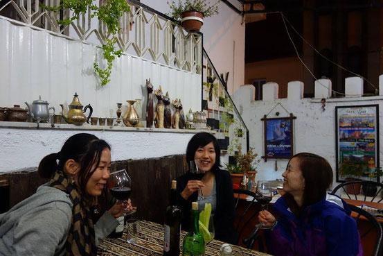 毎晩ワイン会。